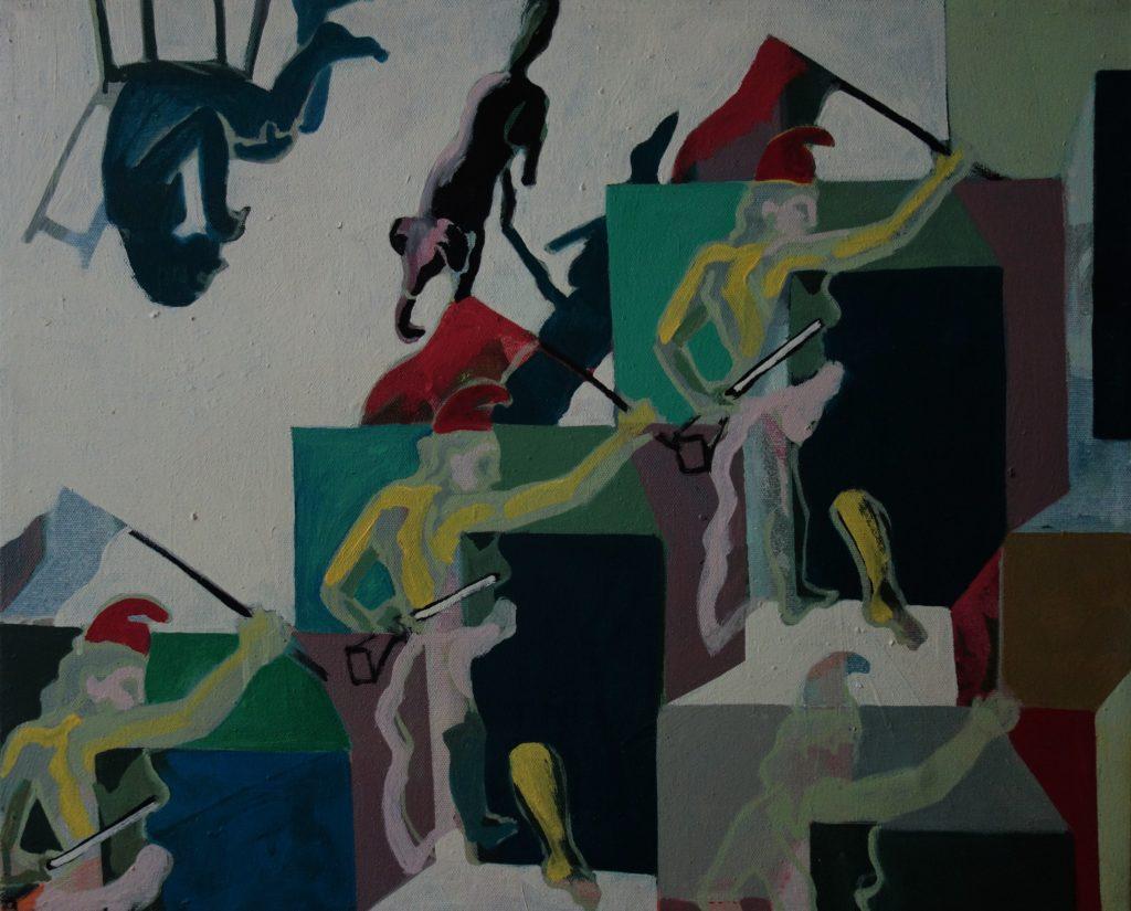 Ecke der Freiheit 52x64 2004
