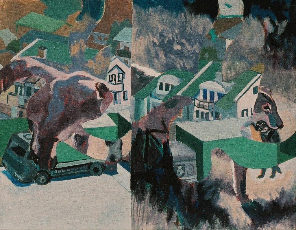 Löwenlaster 35x45 2009