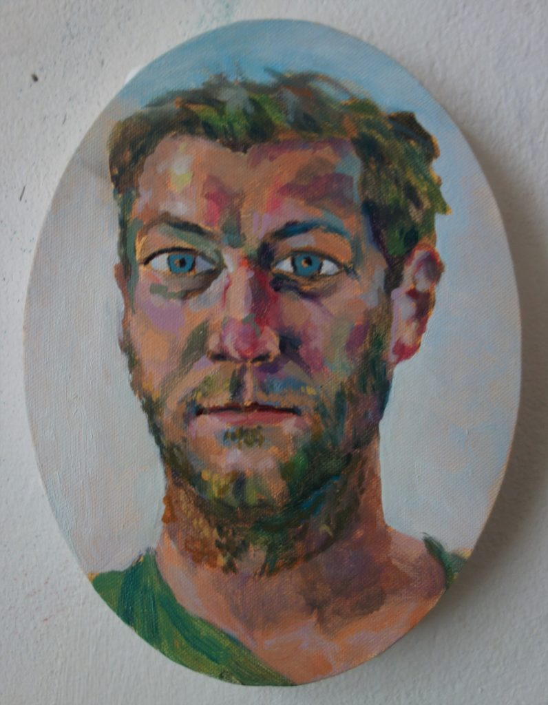 Portrait Wendelin Pressl 24x18 2014
