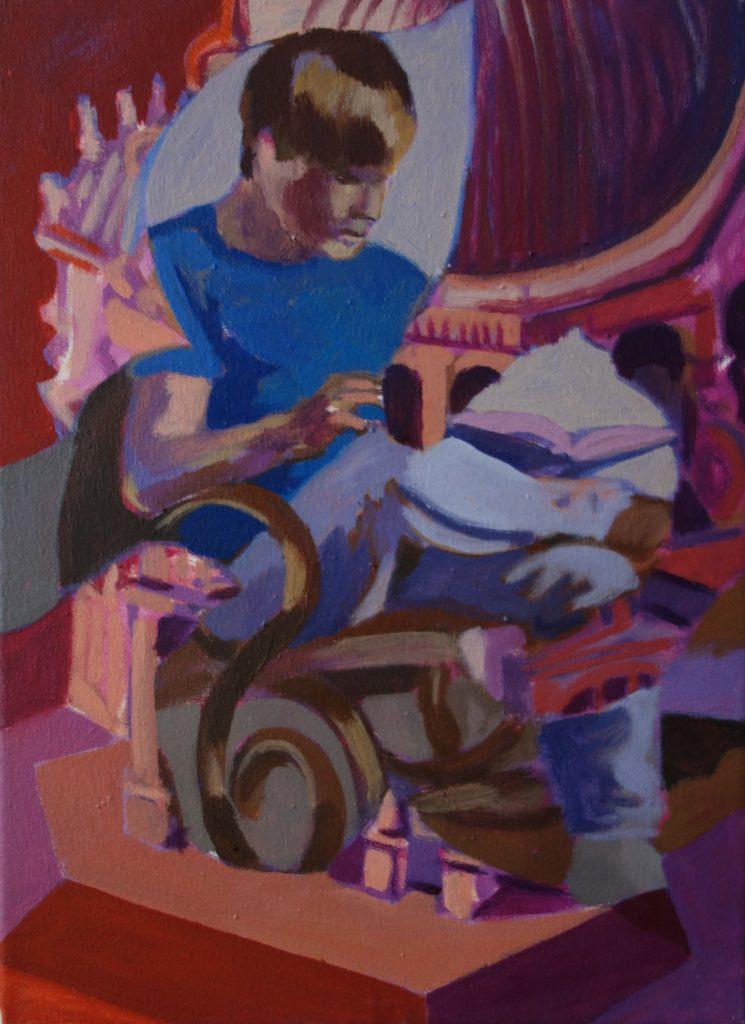 Lesende-Serie 32x23 2011