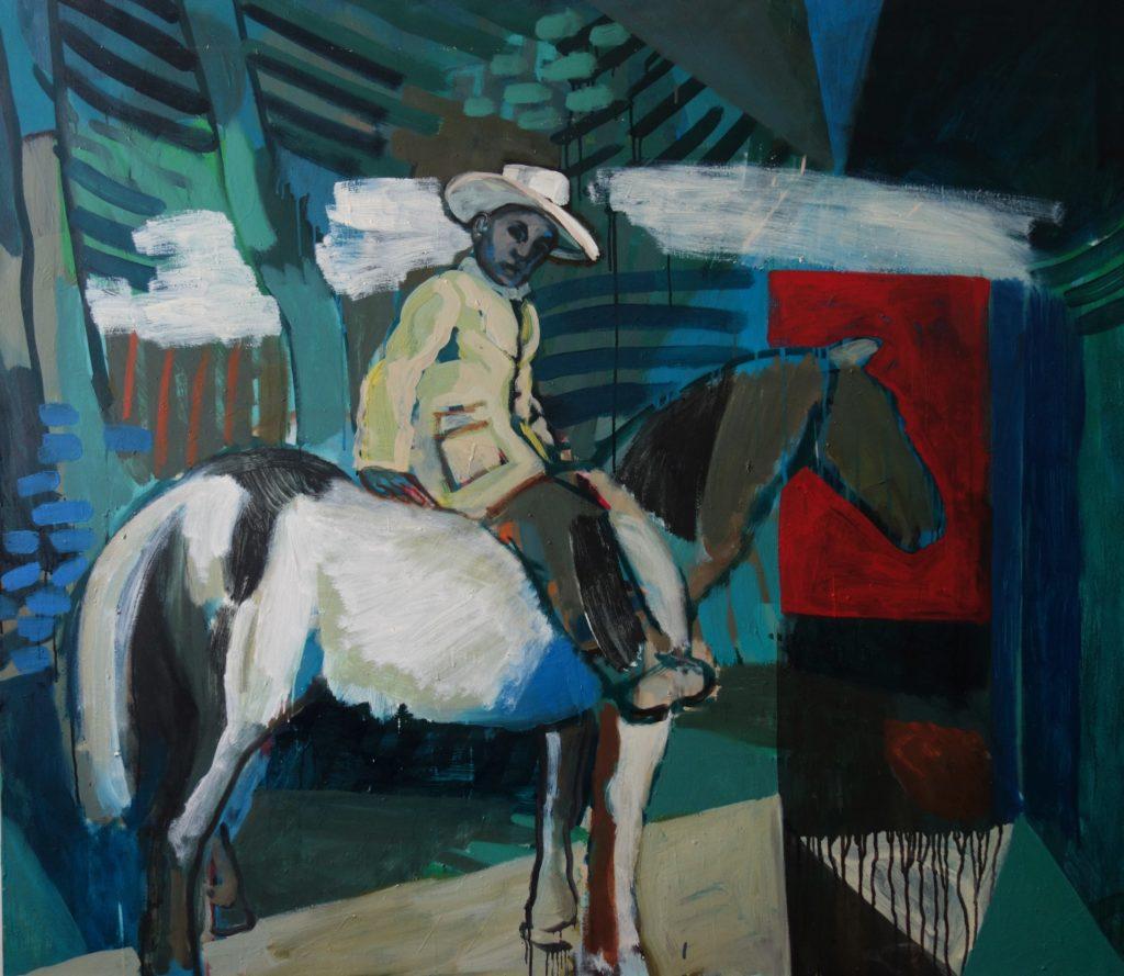 Pivot grammatikalisch (Corot) 120x140 2002